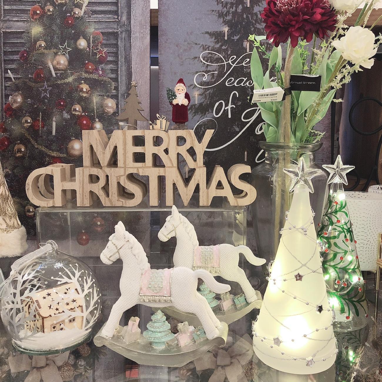 クリスマス/サンタ/スノードーム/飾り/クリスマスを楽しむ