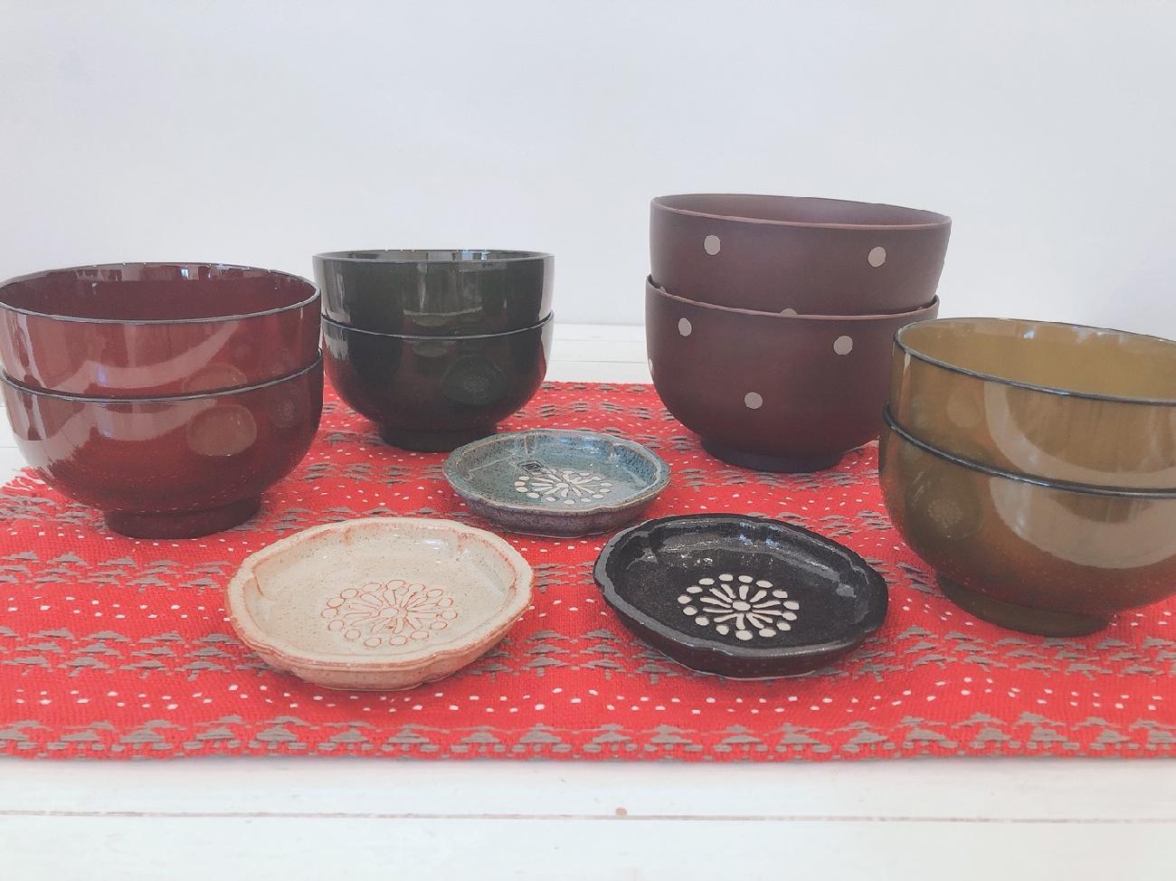 お正月/新年/お椀/どんぶり/豆皿/食器/うつわ