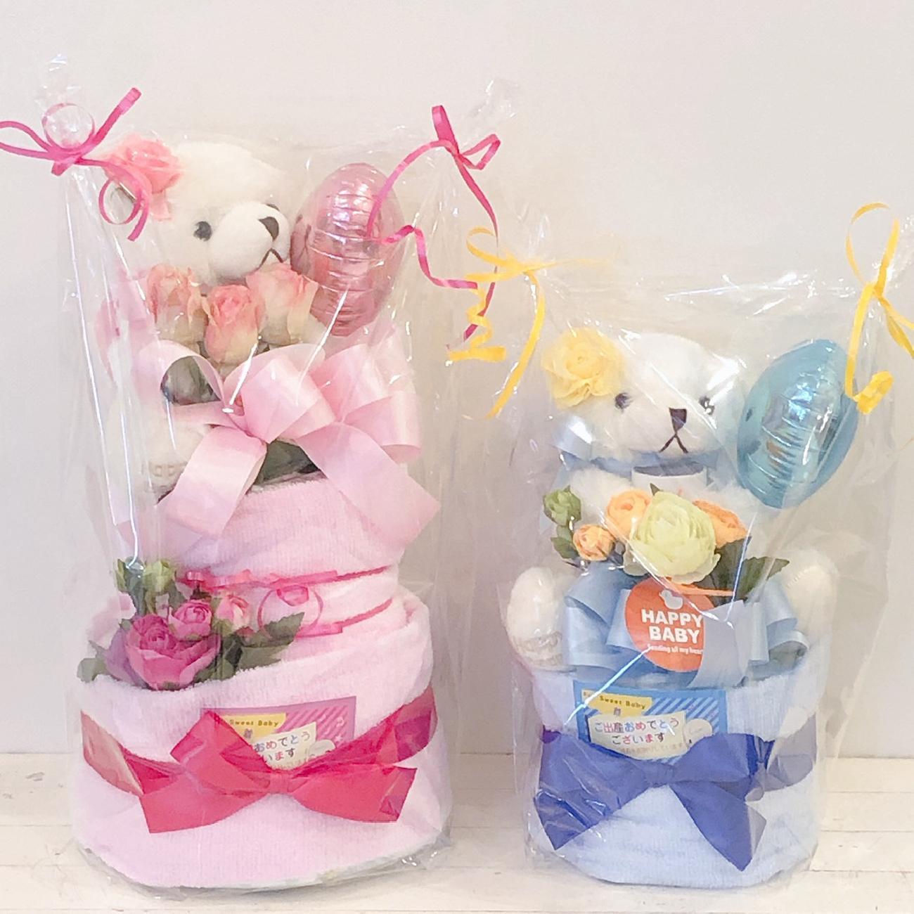 おむつケーキ/出産祝い/人気/贈り物/ギフト/ベビー