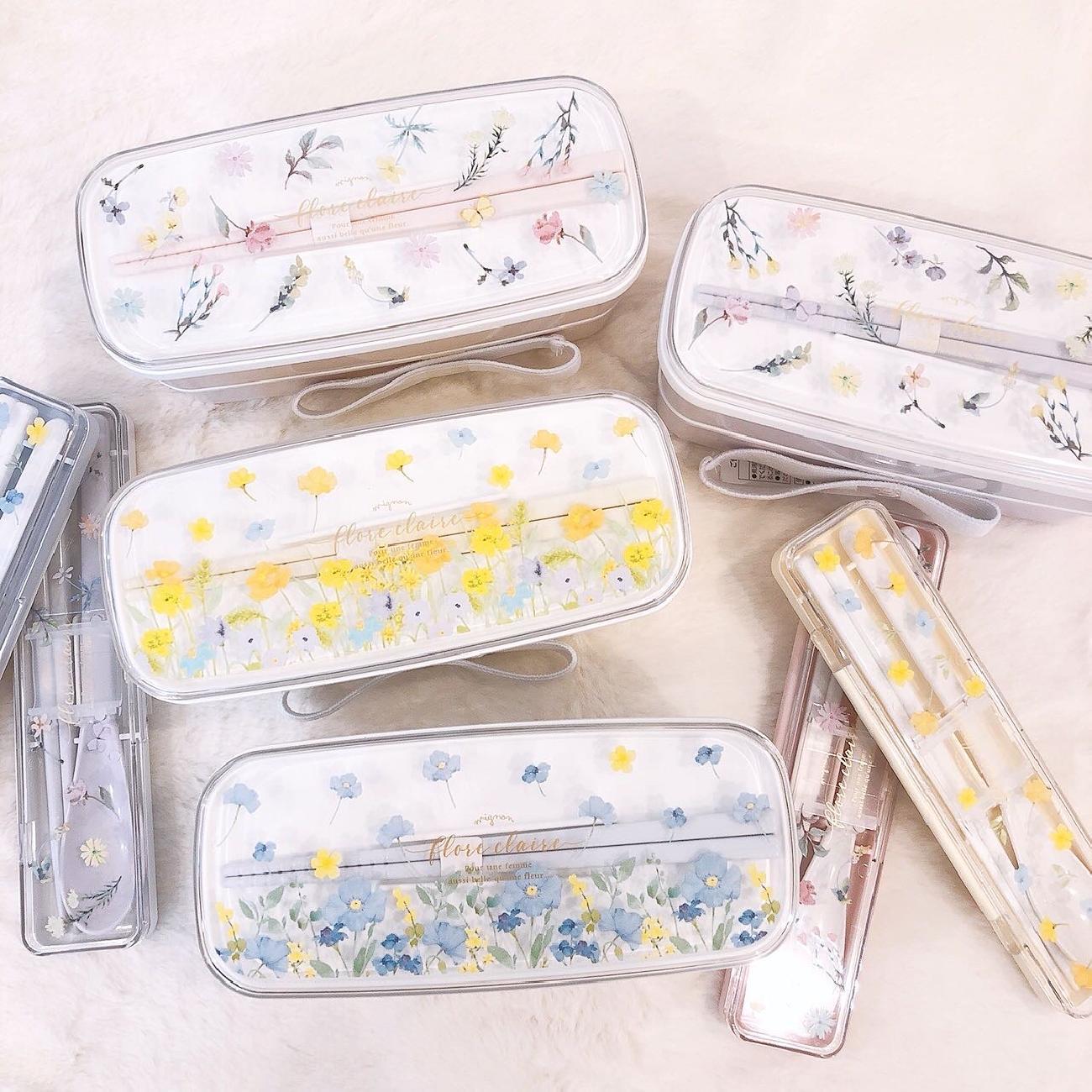 ランチボックス/お弁当/花/お花モチーフ