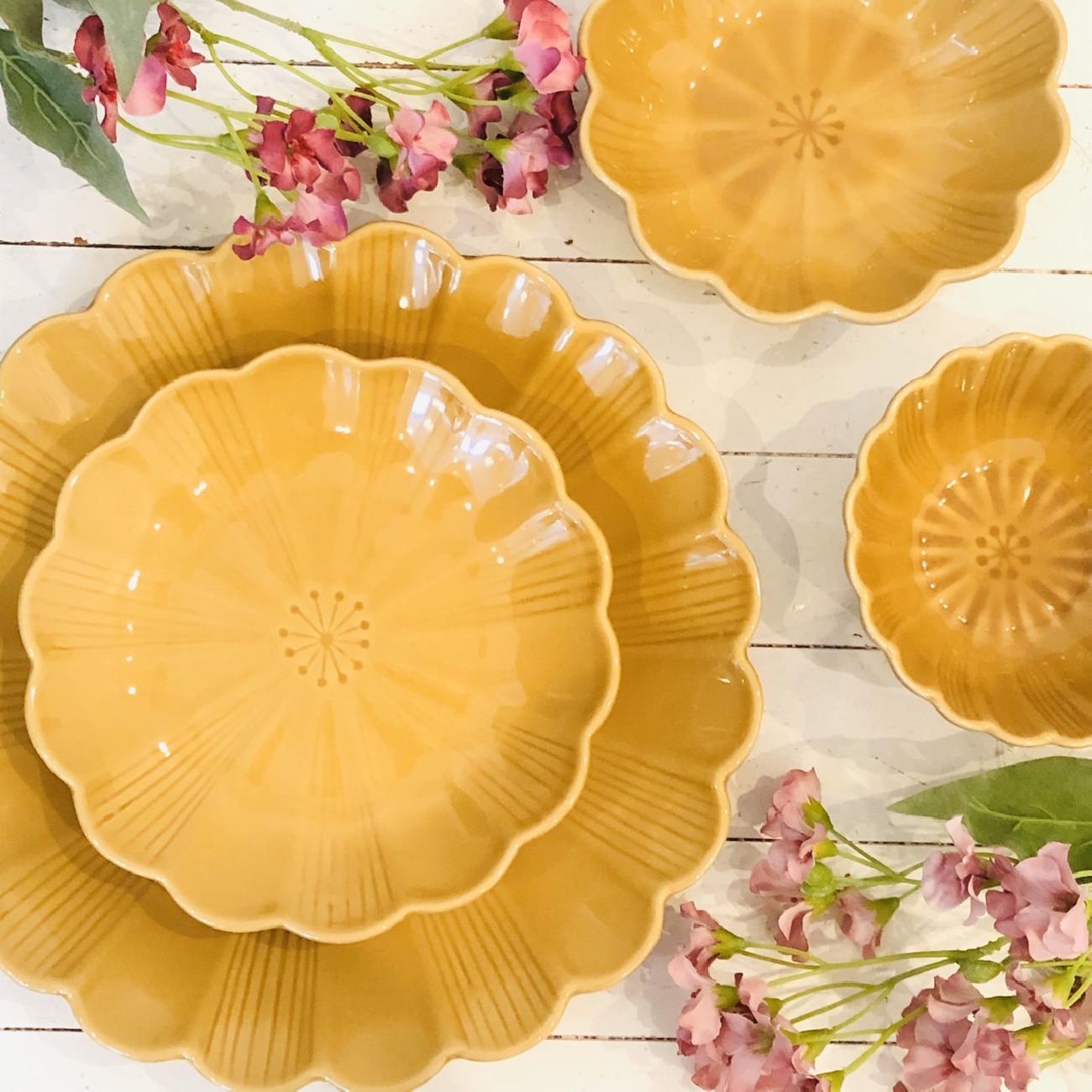 食器/菊型/洋食器/和食器/お祝い/ギフト