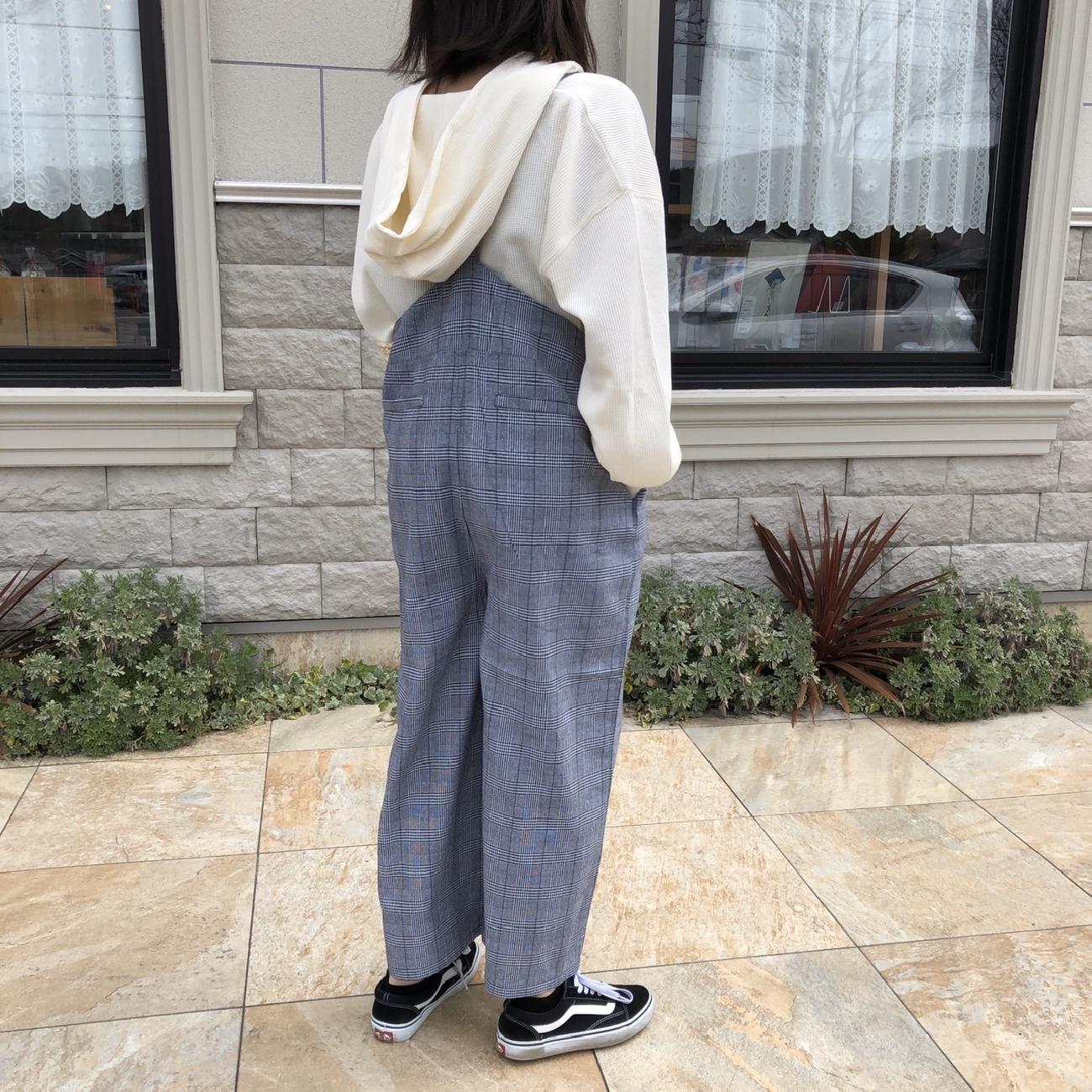 サロペット/コーデ/コーディネート/春/春コーデ/お出かけ/ファッション/服