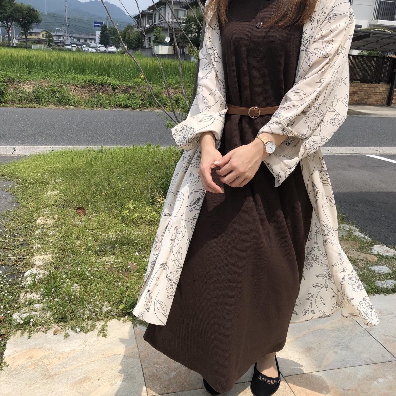 夏コーデ/秋コーデ/花柄/ワンピース/お洒落/大人可愛い/雑貨/雑貨屋