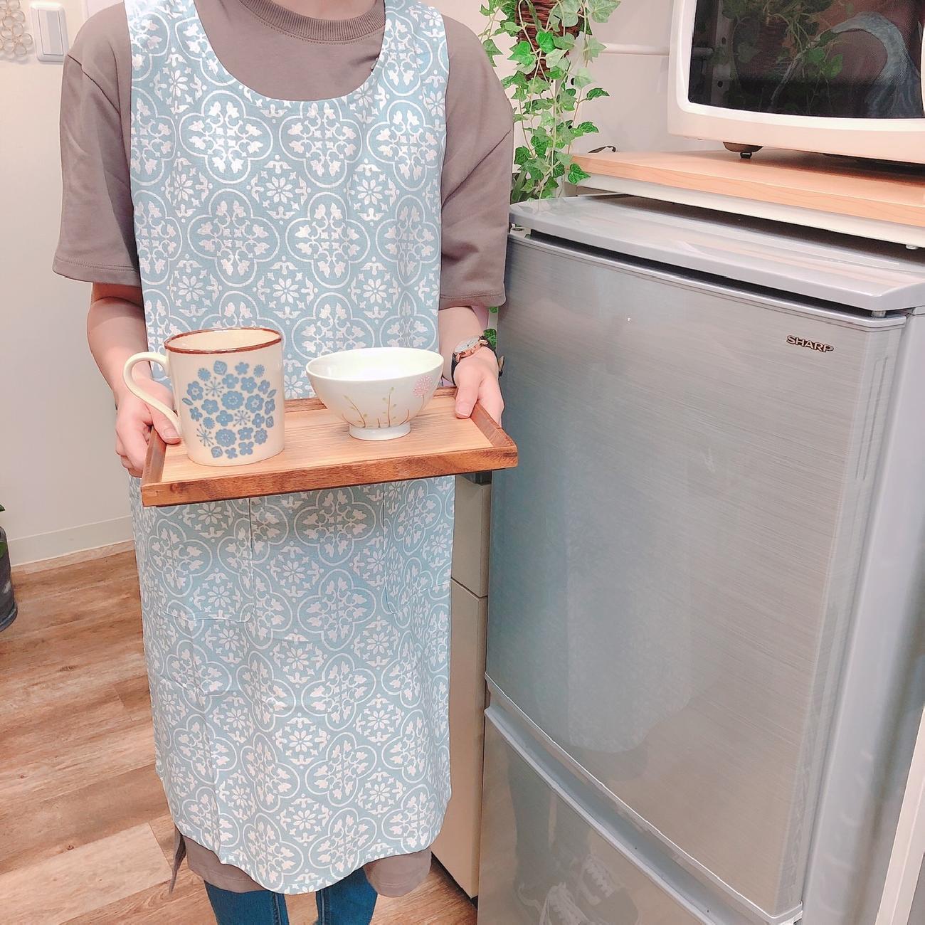 エプロン/キッチン/料理/家事/キッチン雑貨/可愛い/お洒落/花柄/ギフト/プレゼント/贈り物