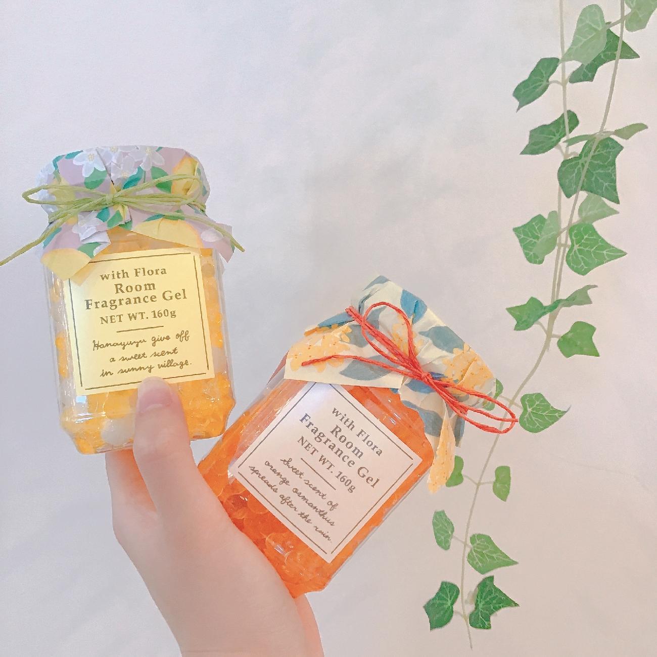 香り/金木犀/花柚子/花/お花/ウィズフローラ/ハンドクリーム/ボディーミルク/サシェ/ジェル/良い香り