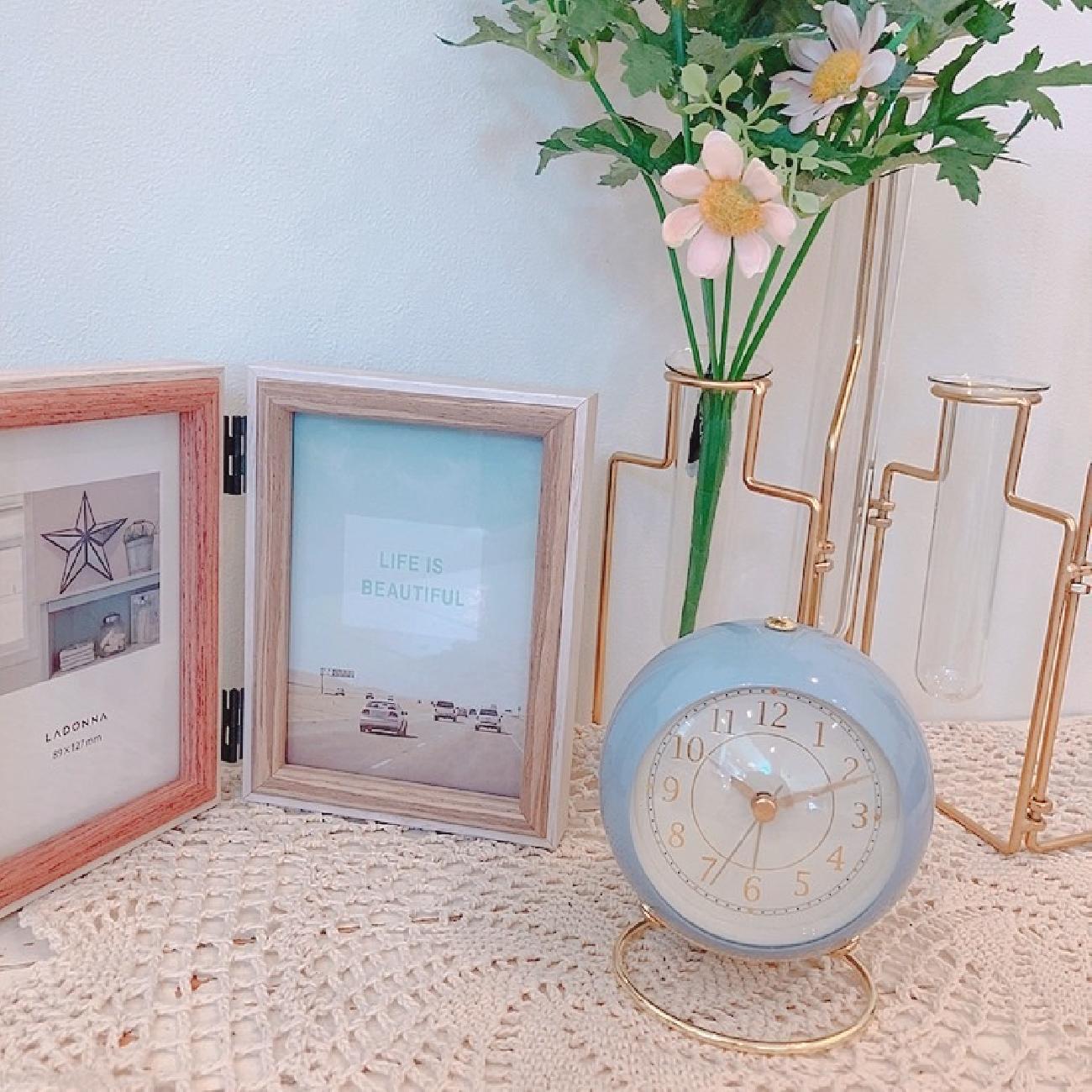 時計/目覚まし時計/マルモアラームクロック/大人可愛い/インテリア雑貨