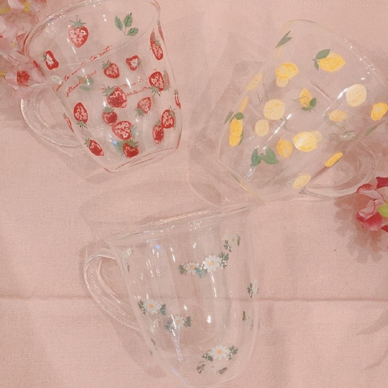耐熱マグ/マグカップ/紅茶/ティーセット/ティータイム/いちご/レモン/可愛い/耐熱/リラックスタイム/リフレッシュタイム