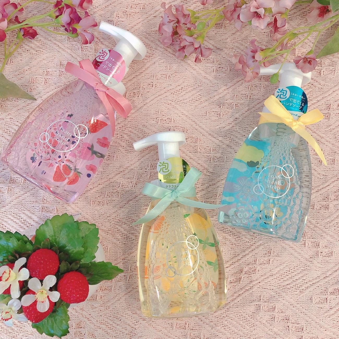 ハンドソープ/泡/手洗い/必需品/いい香り/香り好き/大人可愛い/可愛い