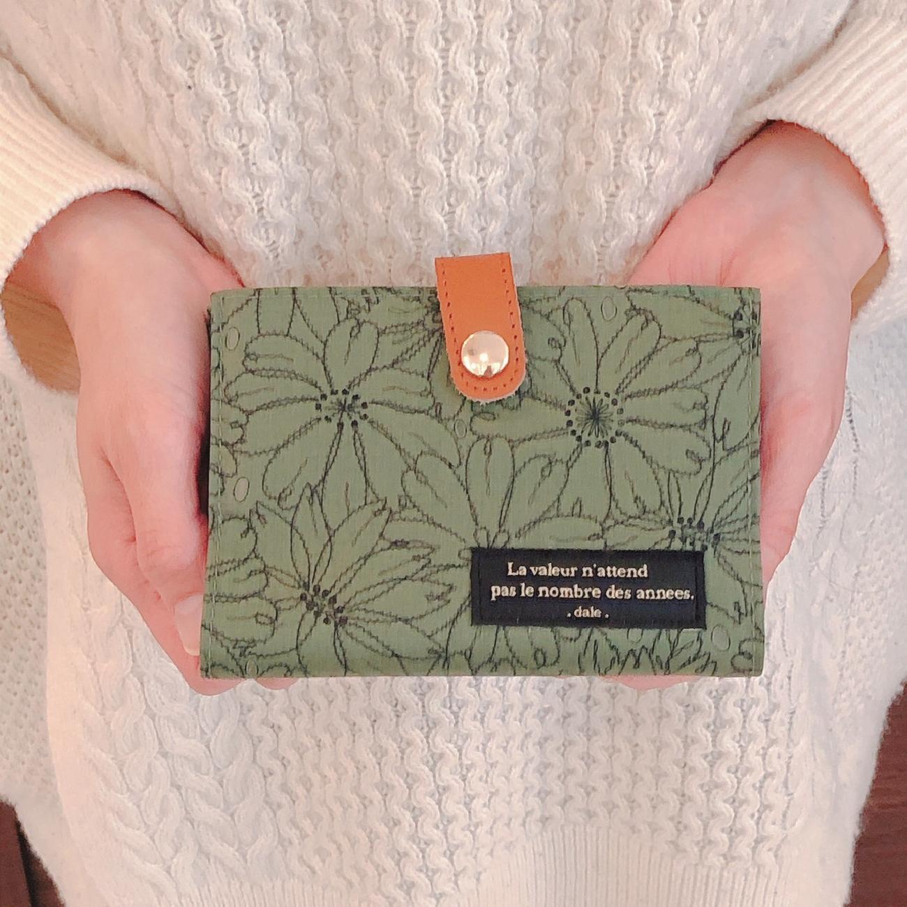 カードケース/花柄/大人可愛い/プレゼント/贈り物/雑貨屋/津山/岡山