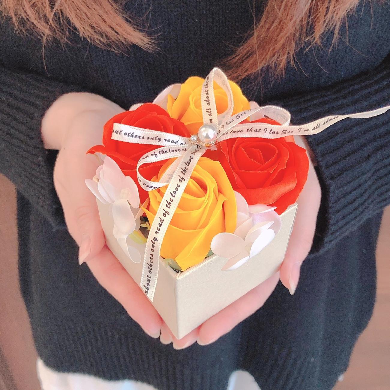 シャボンフラワー/せっけんのお花/贈り物/ギフト