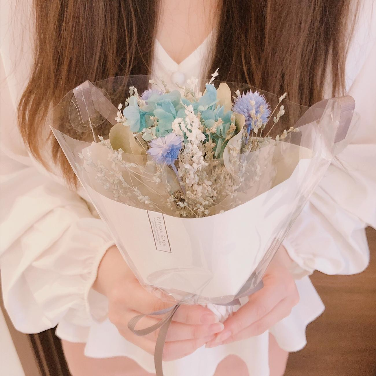 ドライフラワーブーケ/春のインテリア/ブーケアレンジ/ギフト/春の贈り物/インテリア