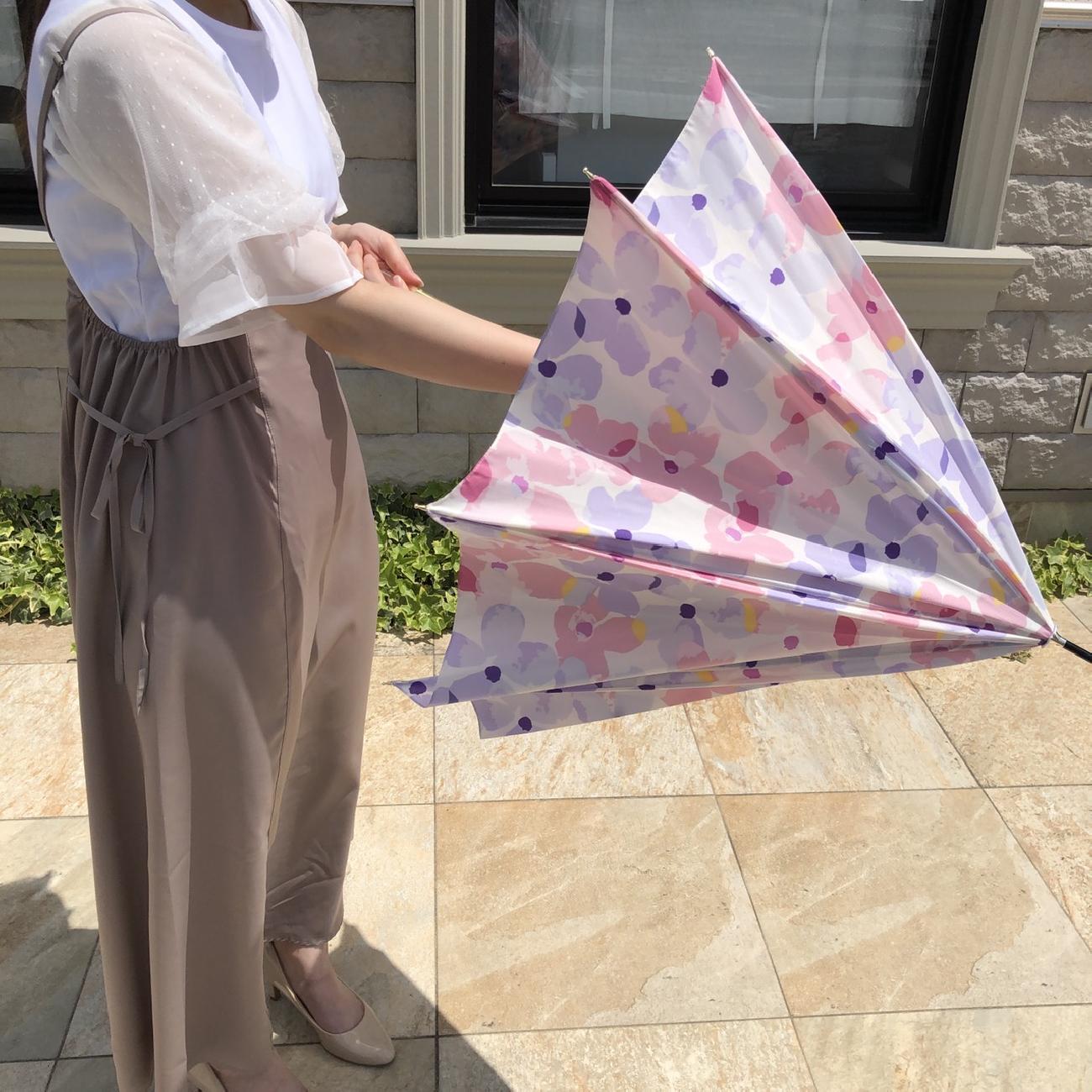 傘/日傘/雨傘/晴雨兼用/花柄/お洒落/晴れ/雨/雑貨屋/津山