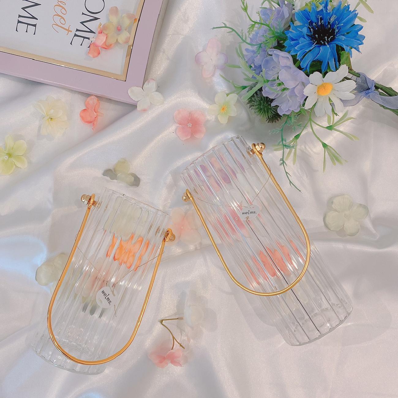 フラワーベース/花瓶/ガラス/お花のある暮らし/インテリア/おうちを楽しむ