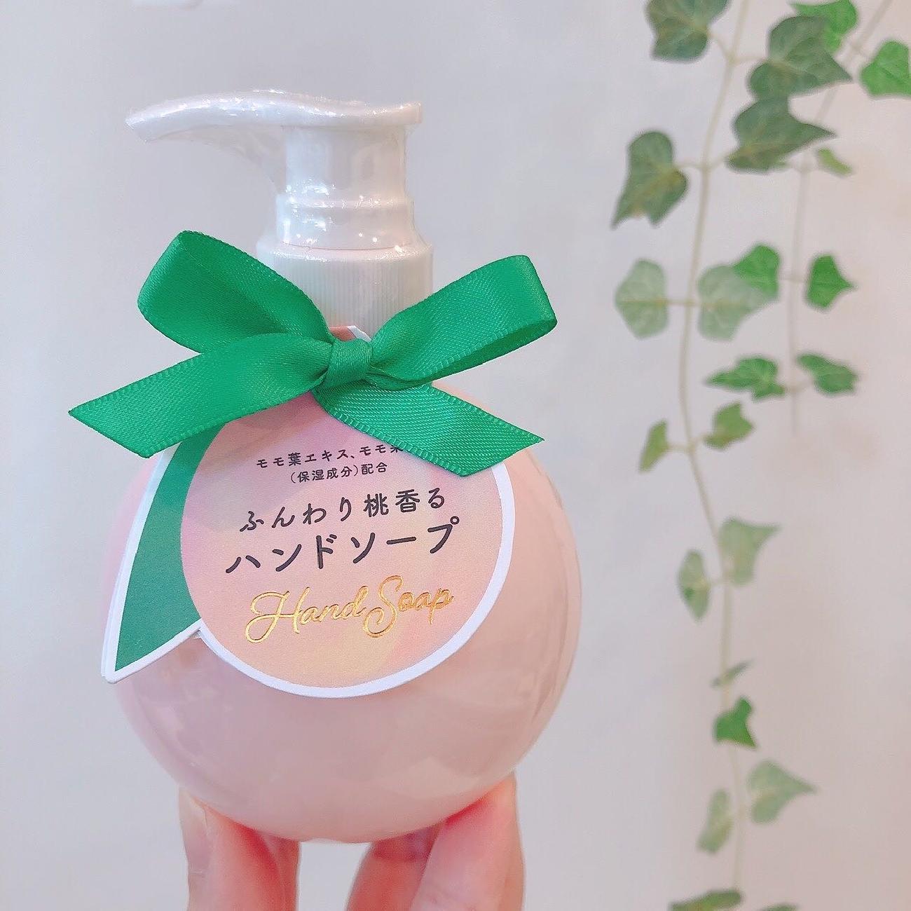 桃/香り/ボディケア/ハンドケア/贈り物/プレゼント/雑貨屋/津山/岡山